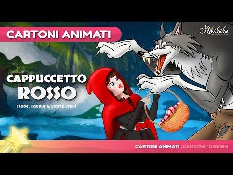 Cappuccetto Rosso (Little Red Riding Hood) Nuevo Cartone Animati   Storie per Bambini