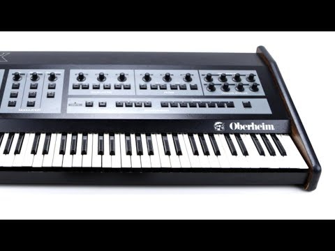 OBERHEIM OB-X Analog Synthesizer (1979) Seven Sounds