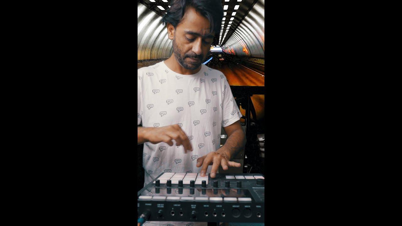 Girish Khatiwada making beats #Shorts