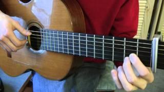 Cours de guitare - Edith Piaf : Non, je ne regrette rien (1/2) Première partie