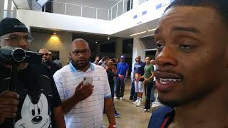 Errol Spence right after weigh n put division on notice Y