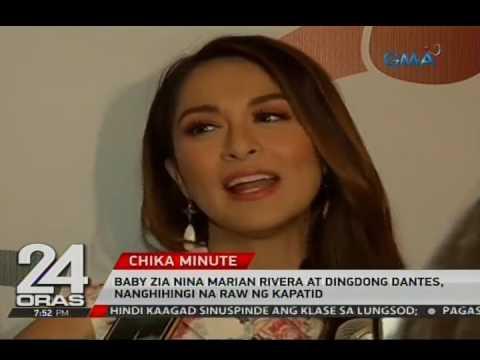 24 Oras: Baby Zia nina Marian Rivera at Dingdong Dantes, nanghihingi na raw ng kapatid - 동영상