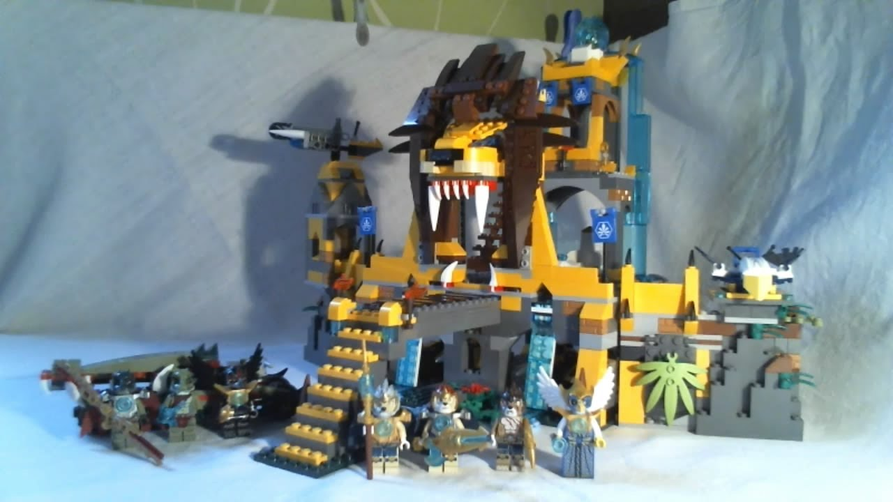 lego legends of chima video review   the lion chi temple