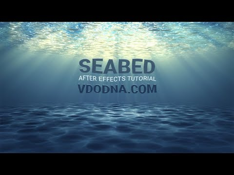 Seabed Under-water After Effects Tutorial