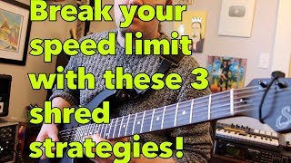 3 Alternate Picking Strategies for MAXIMUM SPEED! | Weekend Wankshop 222