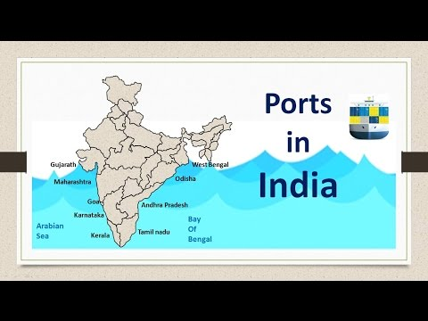 Ports in India - for UPSC Prelims | CDS | EPFO | State PSC