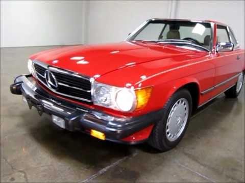 1989 Mercedes-Benz 560 SL For Sale