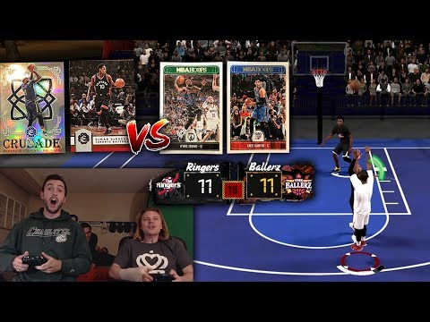INSANE NBA 2K18 IRL PACK AND PLAY BLACKTOP 6 PLAYER TOURNAMENT