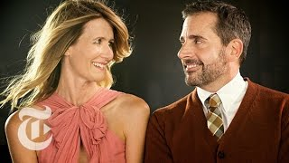 Steve Carell & Laura Dern | Great Performers: 9 Kisses | The New York Times