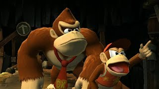 Donkey Kong Country Returns 100% Walkthrough Part 4 - World 4: Cave (All KONG & Puzzle Pieces)