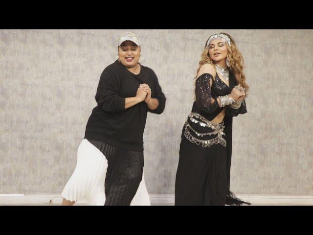 Rakhi Sawant Aur Shabina Khan Shabina Ka Dance Performance | Dream Mein Entry Song Launch