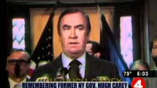 Former NY Governor Hugh Carey dies
