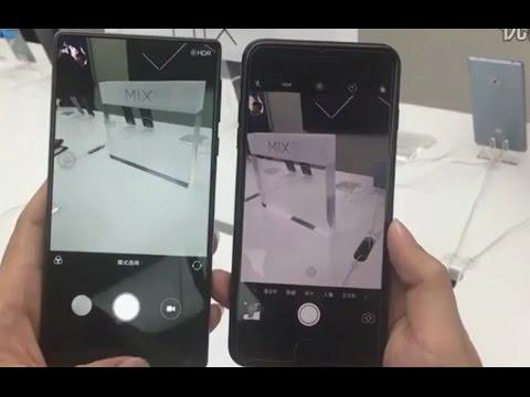 Iphone 7 vs xiaomi mi mix