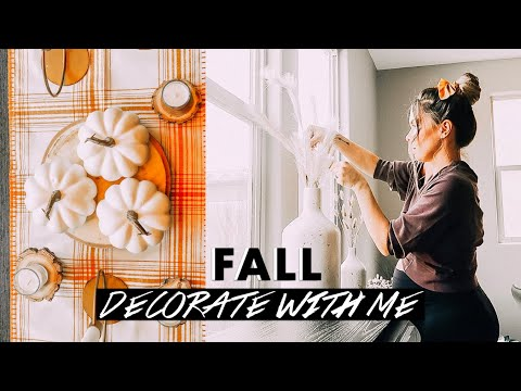 FALL DECORATE WITH ME 2019 🍁 | NEW FALL DECOR