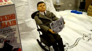 Vintage Toy Jfk In Rocking Chair
