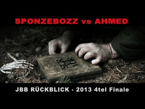 JBB Rückblick I SPONGEBOZZ vs AHMED I 2013 4tel Finale