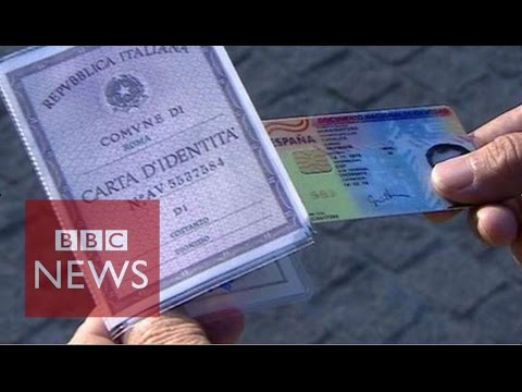 How easy is it for refugees to buy fake passports in Athens? BBC News