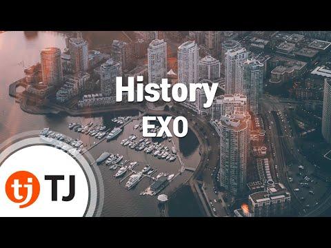 History_EXO 엑소_TJ노래방 (Karaoke/lyrics/romanization/KOREAN)