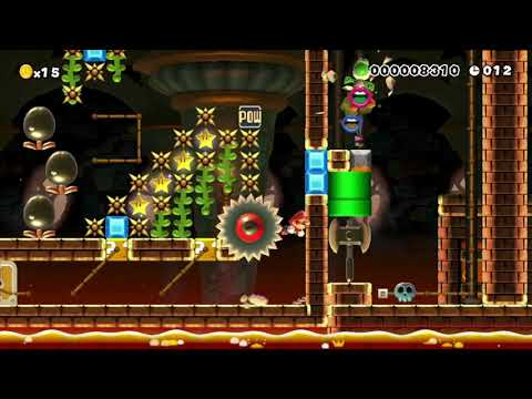 Super Mario Maker - BIO•~SpeedRun~ ¯¦Symbiote¦ 40s¯ by SR