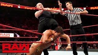 Chad Gable vs. King Corbin: Raw, Sept. 23, 2019