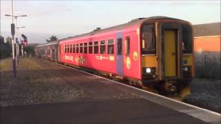 Trains at Newton Abbot (KTV Evenings: Video 2) - 26/9/15