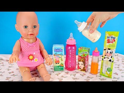 Кто Выпил Банановый Сок Беби Анабель? Мультики Как Мама Играет в Куклы Беби Бон 108мама тв