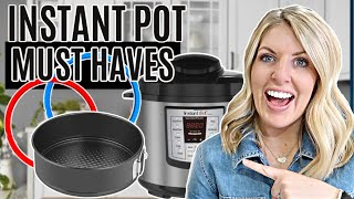 8 MUST HAVE Instant Pot Accessories - Instant Pot Tips