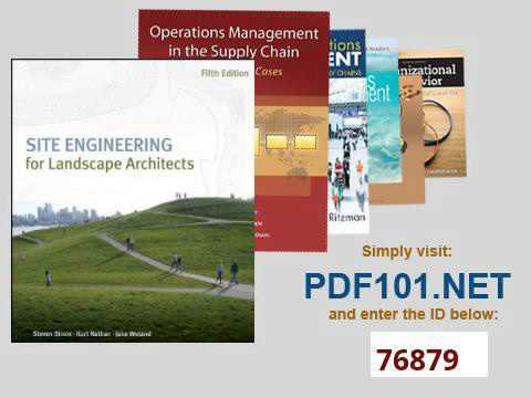Site Engineering For Landscape Architects - YouTube