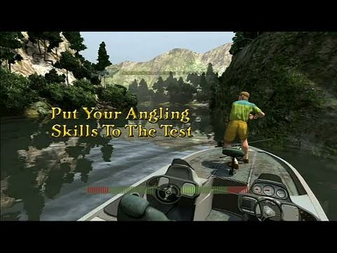 Rapala Fishing Frenzy 2009 Xbox 360 Trailer - Set The Hook