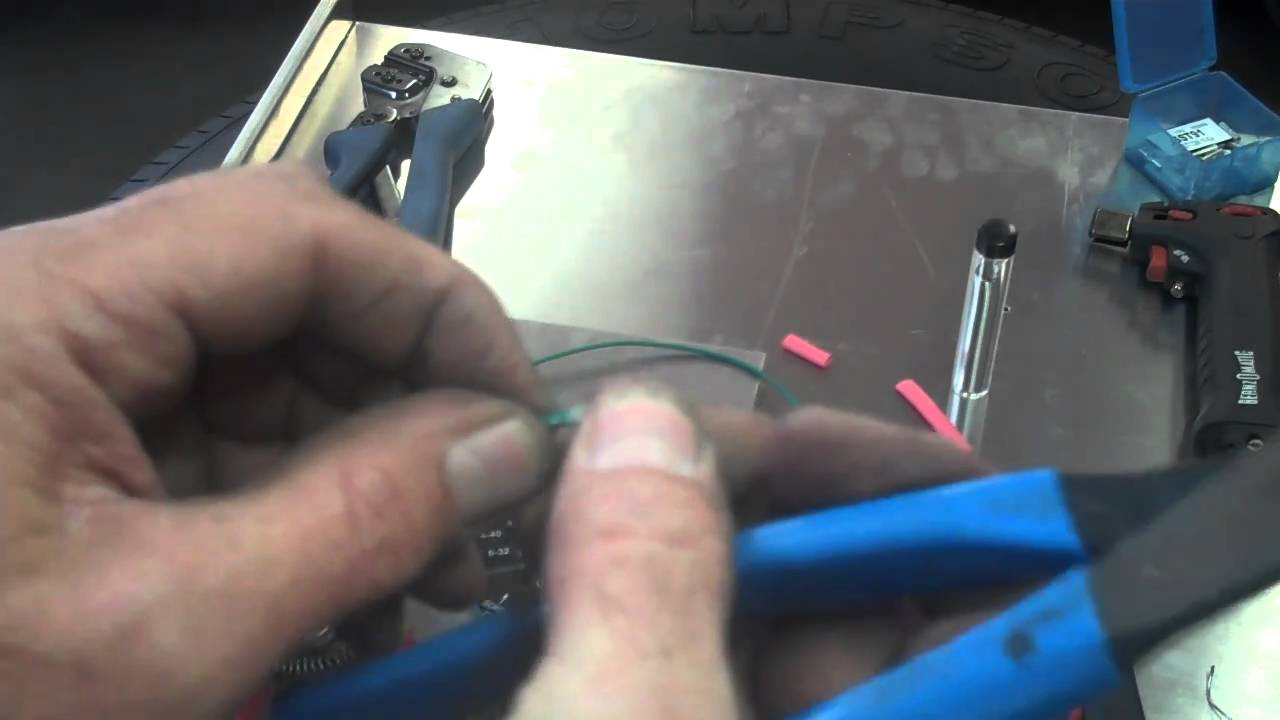 How to splice and repair wires, splicing techniques - YouTube