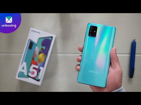 Samsung Galaxy A51 | Unboxing