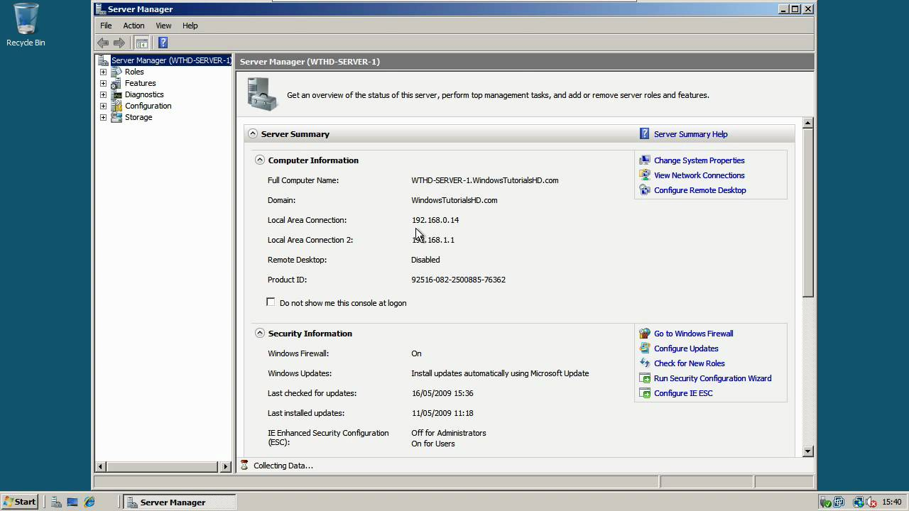 Editing DHCP Options - Windows Server 2008