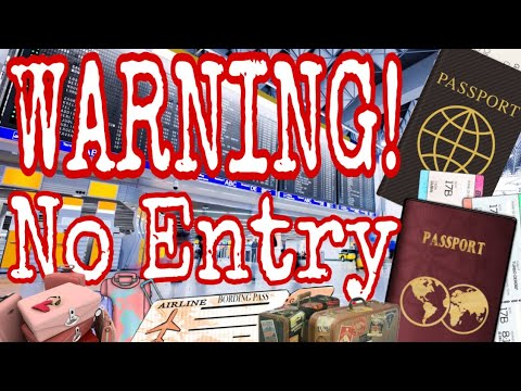 TRAVEL UPDATE: WARNING TO FILIPINO AMERICAN AND TO ALL FOREIGN PASSPORT HOLDERS