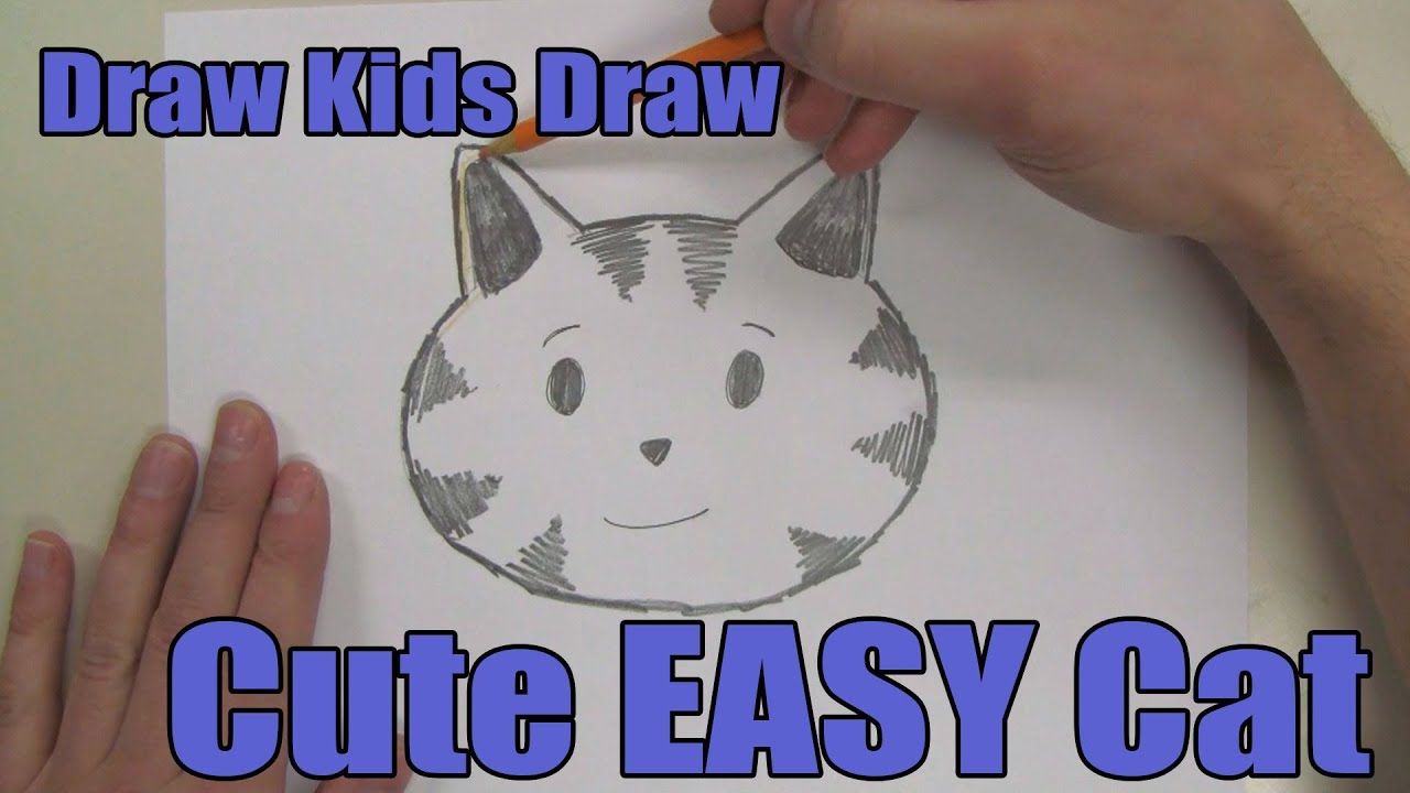 How To Draw: Cute EASY Cat Head