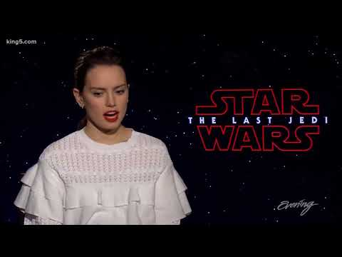 """Finn was on shin?!"": Daisy Ridley and John Boyega relive their weirdest Star Wars moments from YouTube · Duration:  3 minutes 45 seconds"