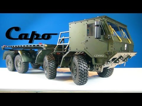 RC ADVENTURES - Full Metal Jacket - CAPO CD 15821 8x8 Extreme Off Road Military Truck - BV6