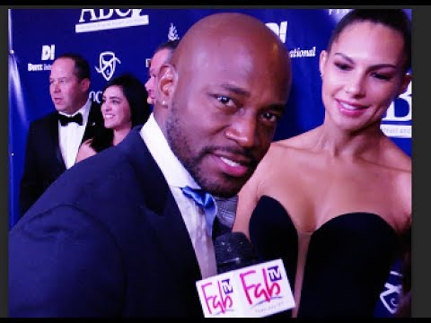 Taye Diggs at the JOHN WAYNE institute event on FabTV