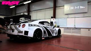 JRM GT3 GT-R shoot for Fast Car Magazine