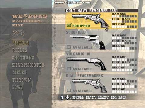 GUN THE GAME PC - how to get all guns in the beginning