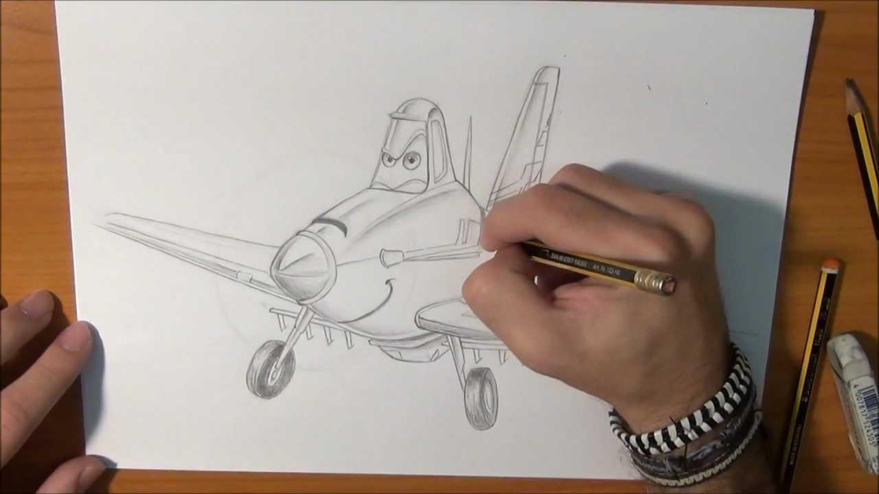 Dibujar a Dusty de la pelcula Plane  How to draw Dusty of the