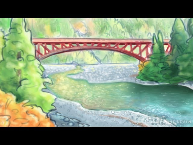 Forest & River Speed Paint
