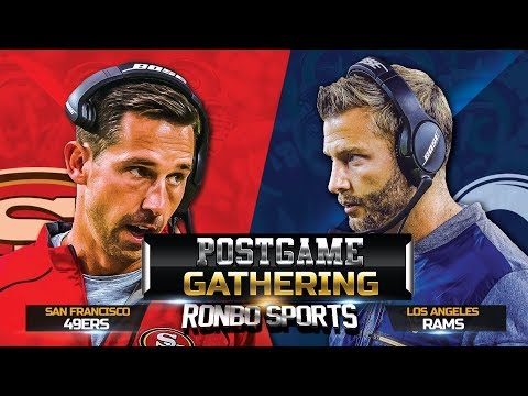 live!-san-francisco-49ers-vs-los-angeles-rams-nfl-2018-week-17-postgame-gathering
