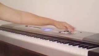 Eu não vou mais deixar você tão só. Piano digital.