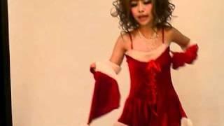 小悪魔 age嬢 キャバ嬢必見!!クリスマス衣装撮影会風景 胸元スピンド...