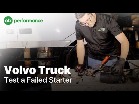 How to Test a Failed Starter on a Volvo D13 Engine - PakVim