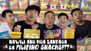 Nawili ang mga banyaga sa Filipino snacks!??