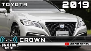 2019 TOYOTA CROWN Review