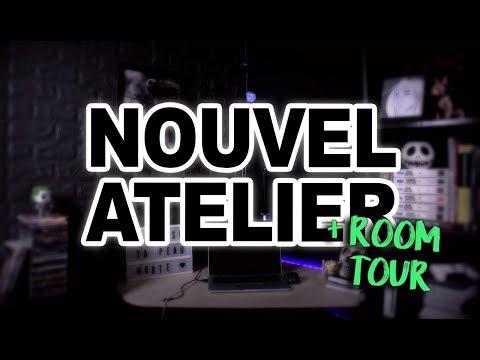 NOUVEL ATELIER + ROOM TOUR