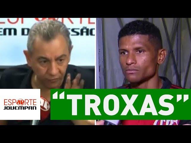 "Flavio Prado detona ""TROXAS"" que perseguem Márcio Araújo!"