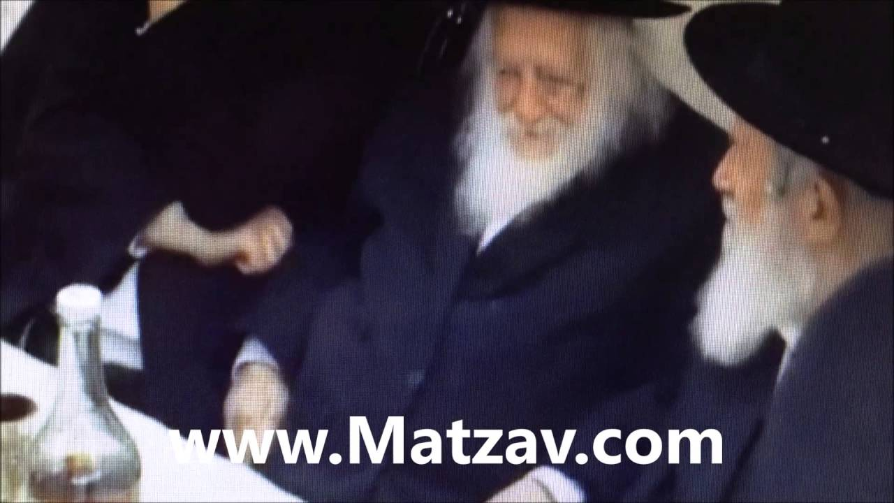 Motty Steinmetz Sings for Rav Chaim Kanievsky